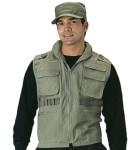 Rothco 8563 8563 8562 Olive Drab Vintage Ranger Vest