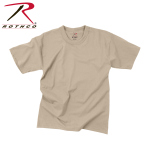 Rothco 85700 Rothco Kids T-Shirt -100% Cotton / Desert Sand