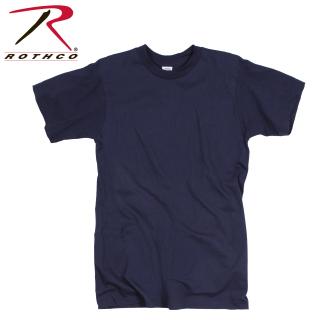 Rothco 8576 8576 *g.I. Irr 100% Cotton T-Shirt / Navy Blue