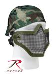 Rothco 857 Bravo Tac Gear Strike Steel Half Face Mask-Olive