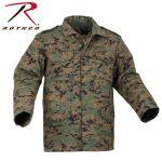 Rothco 8592 8592 Rothco M-65 Field Jacket w/Liner - Woodland Digital