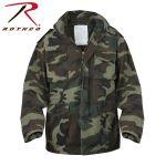 Rothco 8614 8614 Rothco Vintage M-65 Field Jacket - Woodland Camo