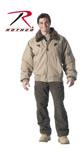 Rothco 8630 Vintage Cotton Khaki B-15a Bomber Jacket