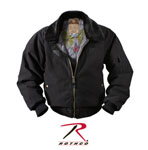 Rothco 8640 Vintage Black B-15a Bomber Jacket