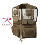 Rothco 8647 8647 Rothco Recon Vest - Coyote
