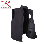 Rothco 86501 86501 Rothco Concealed Carry Soft Shell Vest -Black