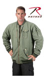 Rothco 8653 8653 Olive Drab Cwu-99e Enhanced Vintage Flight Jacket