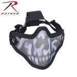 Rothco 867 Bravo Tac Gear Strike Steel Half Face Mask-Skull