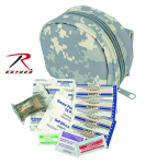 Rothco 8716 Small ACU Zipper Molle First Aid Kit