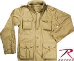 Rothco 8741 Rothco Lightweight Vintage M-65 Jacket - Khaki