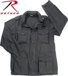 Rothco 8751 Rothco Lightweight Vintage M-65 Jacket - Black