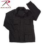 Rothco 8752 8752 Rothco Lightweight Vintage M-65 Jacket - Black