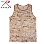 Rothco 8773 8773 Rothco Tank Top / Desert Digital Camo
