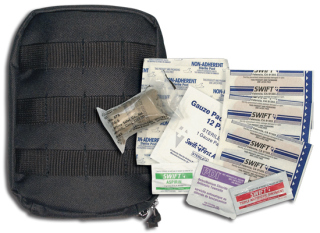 Rothco   8776   Black Molle Tactical First Aid Kit  First Aid Kits ... b8c6669879