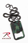 Rothco 8794 Woodland Camo Dog Tag Bottle Opener w/Chain