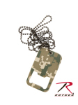 Rothco 8799 Dog Tag Bottle Opener w/Chain - ACU Digital Camo