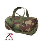 Rothco 88555 Rothco Woodland Camo Shoulder Bag / 19''