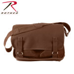 Rothco 8918 Rothco Canvas European School Bag - Brown