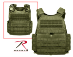Rothco 8924 Rothco Molle Plate Carrier Vest - Olive Drab