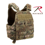 Rothco 8928 Rothco Molle Plate Carrier Vest-Multicam