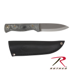 Rothco 892 Bushslore Micarta Handle Knife w/ Sheath
