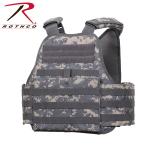 Rothco 8932 Rothco Molle Plate Carrier Vest - Acu Digital