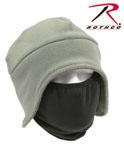 Rothco 8944 Convertible Fleece Cap And Polyester Face Mask - Foliage