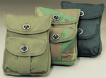 Rothco 9002 Rothco 2-Pocket Ammo Pouch - Olive Drab