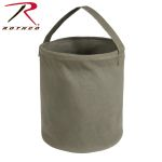Rothco 9006 Medium Od Canvas Water Bucket