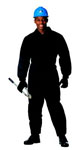 Rothco 9015 Black Insulated Coverall