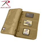 Rothco 90210 Rothco Hook & Loop Patch Book - Coyote