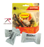 Rothco 906 Wetfire - Fire Starting Tinder / 12 Pack