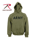 Rothco 9172 9172 Rothco Army Pullover Hooded Sweatshirt