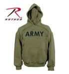 Rothco 9174 9174 9172 Rothco Army Pullover Hooded Sweatshirt