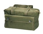 Rothco 9182 Olive Drab GI Type Brass Zipper Mechanics Tool Bag