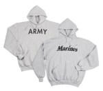 Rothco 9190 9190 9189 Rothco Army Pullover Hooded Sweatshirt
