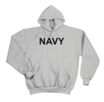 Rothco 9194 9194 Rothco Navy Pullover Hooded Sweatshirt - Grey