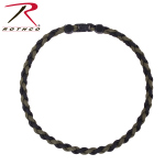 Rothco 92110 Rothco Paracord Necklace - Od / Black