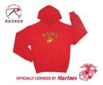 Rothco 9223 9223 Rothco USMC Globe & Anchor Pullover Hooded Sweatshirt - Red