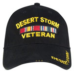 Rothco 9323 Deluxe Low Profile Cap - Desert Storm Vet