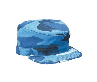 Rothco 9334 Rothco Sky Blue Camo Fatigue Caps