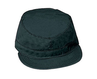 Rothco 9340 Rothco Poly/Cotton Black Fatigue Caps
