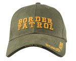Rothco 9368 Deluxe Low Profile Cap - Olive Drab - Border Patrol
