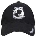 Rothco 9369 Deluxe Low Profile Cap Blk - Pow / Mia