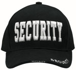 Rothco 9382 Deluxe Low Profile Cap Blk - ''security''