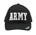 Rothco 9385 Deluxe Black Low Profile Cap - ''army''