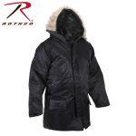 Rothco 9392 9392 Rothco ® Black N-3b Snorkel Parka