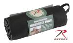 Rothco 93 Rothco Black Microfiber Towel