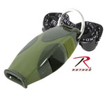 Rothco 9408 'Sharx'' Safety Whistle / Od