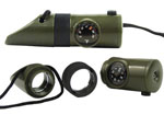 Rothco 9415 6-In-1 Led Survival Whistle Kit